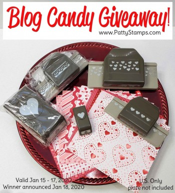 Valentine Heart Blog Candy Giveaway!