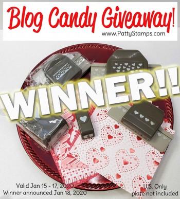 Hearts Blog Candy Winner