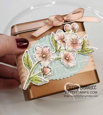 Parisian Blossoms Copper Tins