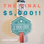 Final $5,000 countdown to the $2million personal Stampin