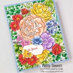 Breathtaking Bouquet background stamp from Stampin
