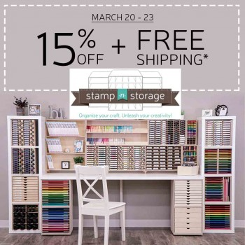 Organize your Crafting Space with Stamp-n-Storage
