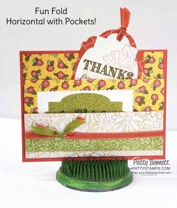 Ornate Garden Pocket Card