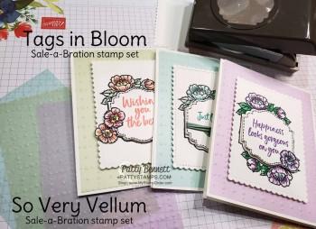 So Very Vellum Spring Cards