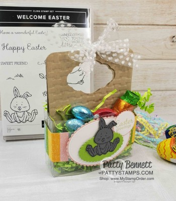 Welcome Easter Bunny Treat Box