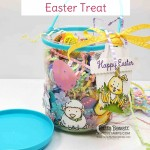 DIY Easter Treat Basket from the Dollar Store! Stampin