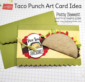 Taco Punch Art Card for Jason