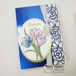 Noble Peacock Note Card featuring Stampin