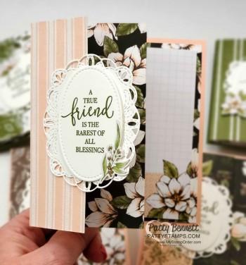 Fun Fold Card Idea with Magnolia Lane