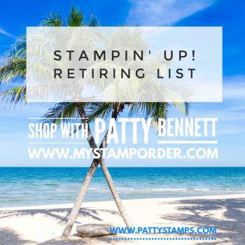 Retiring List for Stampin' UP! April 2020