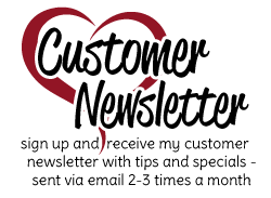 Subscribe to my Customer Newsletter. Info, Tips and Stampin Up ideas from Patty Bennett
