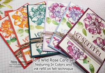 2019-2021 In Color Ribbon & To a Wild Rose