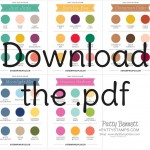 Download the pdf for Stampin