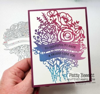 Hand-Drawn Blooms with Adhesive Sheets