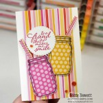 Jar of Flowers bundle from Stampin
