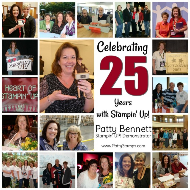 Patty Bennett, Stampin' Up! demonstrator celebrating 25 years of sharing papercrafting and card making projects, including handy tips and techniques! www.PattyStamps.com