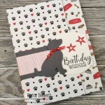 Playful Pets card featuring Stampin