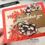 Tasteful Touches stamp set #152562 birthday card idea by Cindee for Patty Bennett.