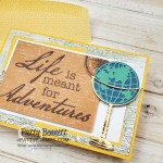 Stampin Up World of Good Memories & More card pack Adventure card idea by Patty Bennett www.PattyStamps.com