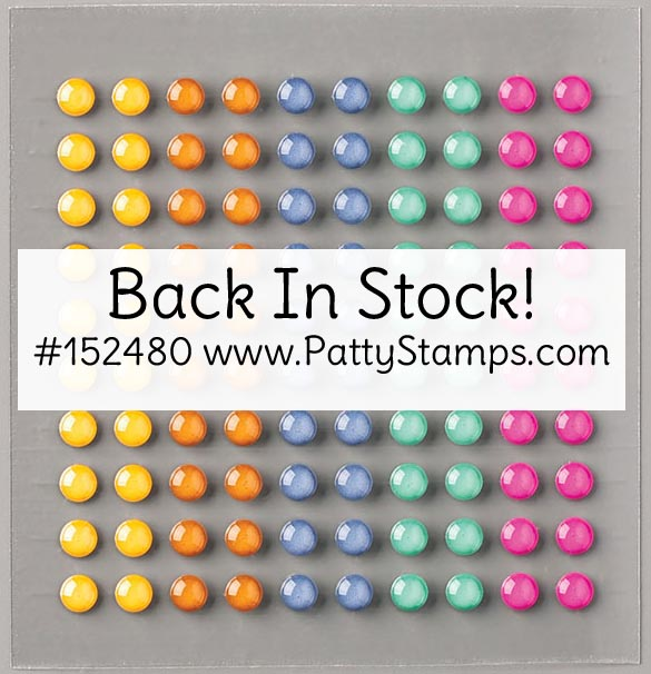 2020-2022 In Color Enamel Dots Back In Stock! #152480 www.PattyStamps.com