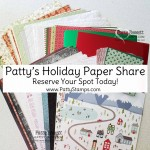Paper Share for the Aug - Dec 2020 Holiday catalog from Stampin Up! offered by Patty Bennett www.PattyStamps.com